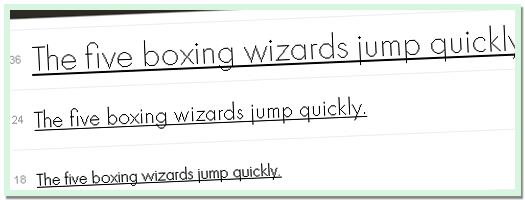 Moving Forward With Web Fonts