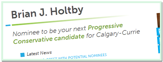 Brain J Holtby - Campaign Site