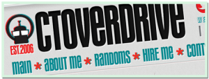c.t.overdrive Redesign - 2011