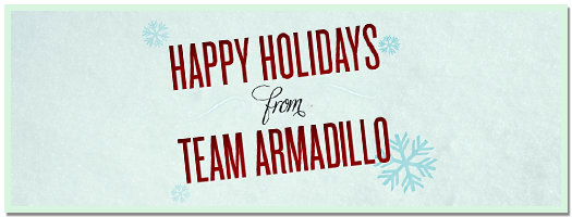 Armadillo Studios Holiday Wallpaper - 2011
