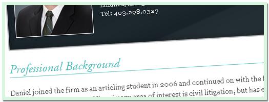 Miles Davison Lawyer Profile - 2012