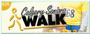 The Calgary Seniors Walk - 2012