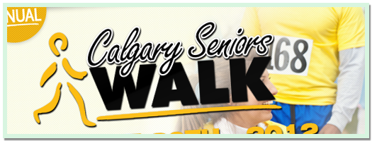 The Calgary Seniors Walk - 2012
