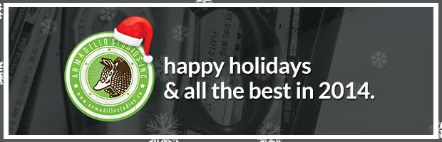 Happy Holidays From Armadillo Studios