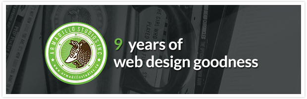 9 years of web design goodness
